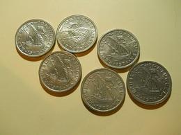 Portugal Lot Coins 2 1/2 Escudos High Grade - Portugal