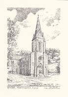 47-----MONTESQUIEU--église---( Illustration Yves DUCOURTIOUX )-voir 2 Scans - Non Classificati