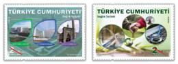(4389-90) Health Tourism Stamps Set MNH** - Nuevos