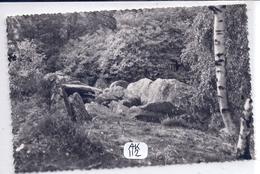VIDELLES- LES ROCHERS DANS LA FORET- 1955 - France