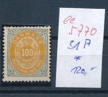 Dänemark   Nr. 31 A  *(  Ee5770) Siehe Scan....! - 1864-04 (Christian IX)