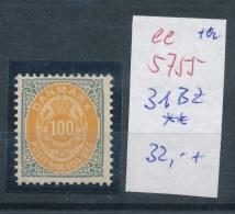 Dänemark   Nr. 31 Bz  ** (  Ee5755 ) Siehe Scan....! - 1864-04 (Christian IX)
