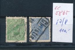 Norge Nr. 67-8  O  (  Ee5865  ) Siehe Scan....! - Gebraucht