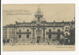 Valladolid * University * Advertising Top Left Water ''Moura Castello'' - Valladolid
