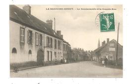 La Bazoche-Gouet- La Gendarmerie Et La Grande Rue-(C.6985) - France