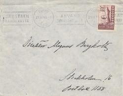 Finnland: 1945: Brief Turku Nach Schweden - Non Classés