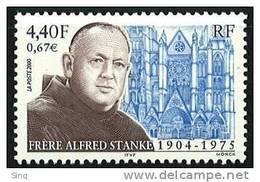 N° 3349  Alfred Stanke, Faciale 4,40F - Nuovi
