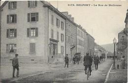 BELFORT La Rue De Mulhouse - Belfort - City