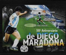 ST THOME ET PRINCE    BF ( 2010 )  * *  Football  Soccer Fussball Stade Maradona - Neufs