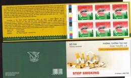 VIETNAM, 2018, MNH, STOP SMOKING, HEALTH,BOOKLET - Health