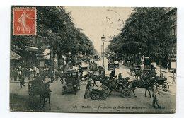 CPA  75 : PARIS  Bd Montmartre Très Animé    VOIR  DESCRIPTIF  §§§ - France