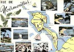 ILE DE Noirmoutier Plan + Multivues RV - Maps