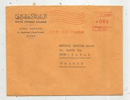 Lettre , Banque Centrale D'Algérie , Algérie , ALGER , 21 II 1973 , ALGER-STRABOURG - Algerien (1962-...)
