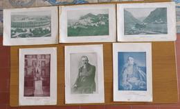 N° 6 PICCOLE STAMPE DI GRESSONEY-CAPRI-L'ARENA-NAPOLEONE-GOLDONI-NANSEN- - Stampe
