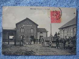 Hornoy Somme La Gare Belle Scene Animee - Hornoy Le Bourg