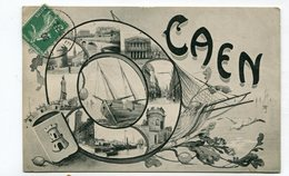 CPA 14 : CAEN    Multi Vues   A   VOIR  !!!! - Caen