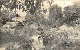 AFRIQUE NOIRE Bords De Lagune RV  Beau Timbre 15F Moyen Cingi Hopital De Brazaville - Centrafricaine (République)