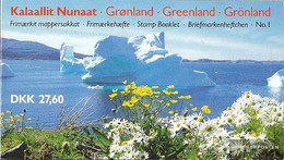 Denmark - Greenland MH1 (complete Issue) Unmounted Mint / Never Hinged 1989 Queen Margrethe II. - Booklets