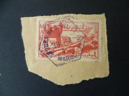 MAROC   OBLITERATION  SUR FRAGMENT - Maroc (1891-1956)
