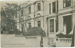 Brighton 1913; Convent Of Blessed Sacrament - Circulated. (Pannell & Barnard) - Brighton
