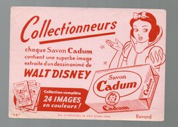 Buvard SAVON CADUM (ill Walt Disney) (PPP9354) - Parfums & Beauté