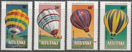AITUTAKI    SCOTT NO. 288-91    MNH      YEAR  1983 - Aitutaki
