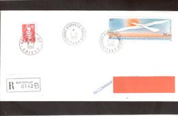 E38 - PA 114 OISEAU De FOLON Du 1.1.90 TERRE ADELIE- Première Date D' Emploi - Timbre France Pour Poste Restante. - Terres Australes Et Antarctiques Françaises (TAAF)