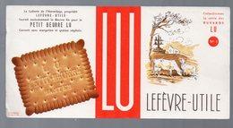 Buvard PETIT BEURRE LU N°1 (PPP9358) - Food
