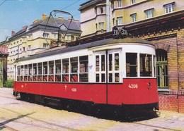 Tramway Amerikaner Wien Austria - Strassenbahnen