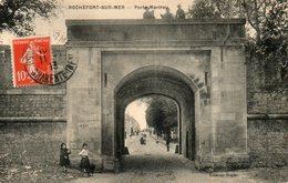 Rochefort  Sur  Mer -      Porte  Martrou. - Rochefort