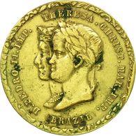 1849 NOZZE IMPERATORE PEDRO II BRASILE E TERESA CRISTINA DI BORBONE - MOLTO RARA - Royal/Of Nobility