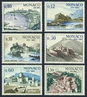 Monaco 618-623,MNH.Michel 812-817. Palace Of Monaco-750,1966.Views,Ships. - Castles