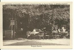 70 - LUXEUIL LES BAINS / HOSTELLERIE DE LA ROSERAIE SOUS BOIS - PERGOLA FLEURIE - Luxeuil Les Bains