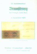 23. Kruschel Auktion 1985 - Braunschweig Sammlung Dr. Marx - Auktionskataloge