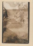 Carte Photo : Bellancourt. - Tombe Des Soldats Béguin Et Terrien. - ( Modern '' Photo '' Nantes ). - France