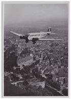 DT- Reich (000433) Propaganda Sammelbild Adolf Hitler Bild 14, Mit Der D-2600 über Nürnberg Ankunft - Briefe U. Dokumente
