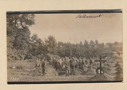 Carte Photo : Bellancourt. - Obsèques D'un Soldats. - ( Modern '' Photo '' Nantes ). - France