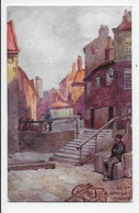 Tate Hill,  Whitby - Winter Moore - Tuck Oilette 7501 - Whitby