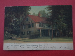 USA, Etats-unis,  Connecticut, General Putnam's Cottage, Greenwich, A Circulé En 1929, Dos Divisé, Jolie Oblitération - Etats-Unis