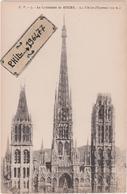 76 Rouen - Cpa / La Cathédrale - La Flèche. - Rouen