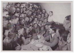 DT- Reich (000459) Propaganda Sammelbild Deutschland Erwacht Bild 45, Das Braune Haus In München Ist Das Ziel Vieler SA - Deutschland