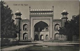India - Agra - Gate Of Taj - India