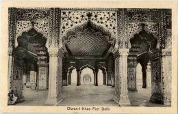 India -Delhi -  Diwan I Khas  In Delhi Fort - India