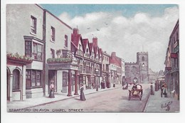 Stratford,-on-Avon Chapel Street - Tuck Oilette 7526 - Stratford Upon Avon