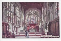 Stratford,-on-Avon. Chancel, Holy Trinity Church - Tuck Oilette 7526 - Stratford Upon Avon
