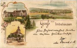 Gruss Aus Imbshausen B. Northeim Litho 1898 - Deutschland