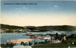 Gaspe - Entrance To Inner Harbour - Gaspé