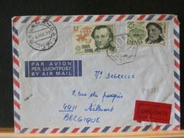 79//822 LETTRE ESPAGNE  1979  URGENTE POUR LA BELG. - 1931-Today: 2nd Rep - ... Juan Carlos I