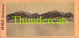 ANCIENNE PHOTO STEREOSCOPIQUE STEREOVIEW PHOTO STEREO FOTO LE RHIN EHRENBREITSTEIN DEUTSCHLAND ALLEMAGNE GERMANY - Stereo-Photographie