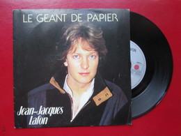"""DISQUE Vinyle 45 T - JEAN-JACQUES LAFON  """" Le Déant De Papier - On Noublie Jamais Vraiment """" 1985 - TBE - Vinyl Records"""